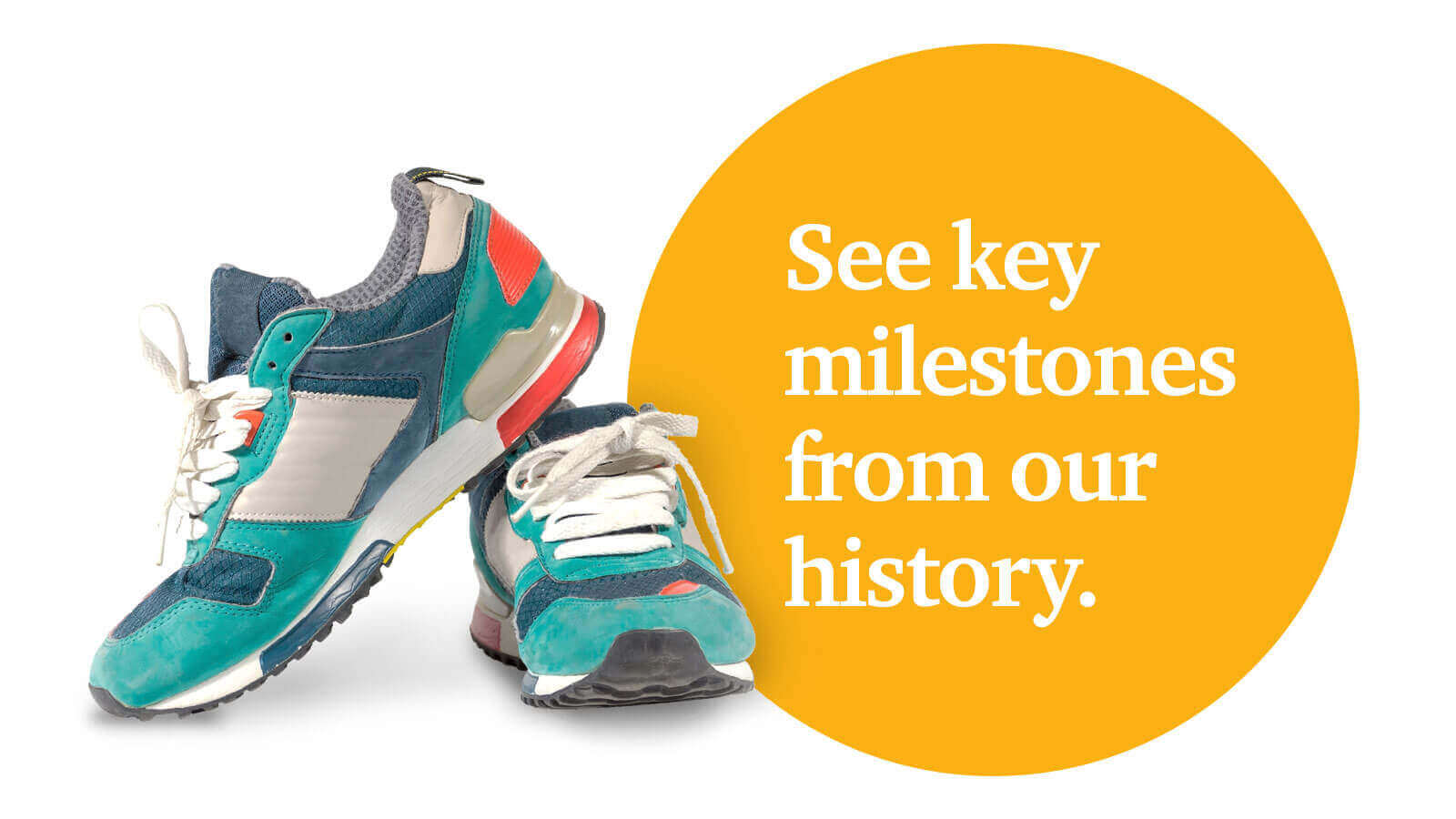 See key milestones from our history