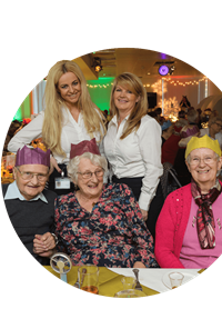 Pensioners at Together party