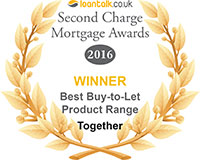 Loan Talk awards 2016 Best buy-to-let product range