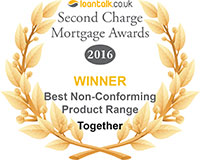 Loan Talk awards 2016 Best non-conforming product range