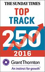 Sunday Times - Top Track 250 Company 2016 - large logo