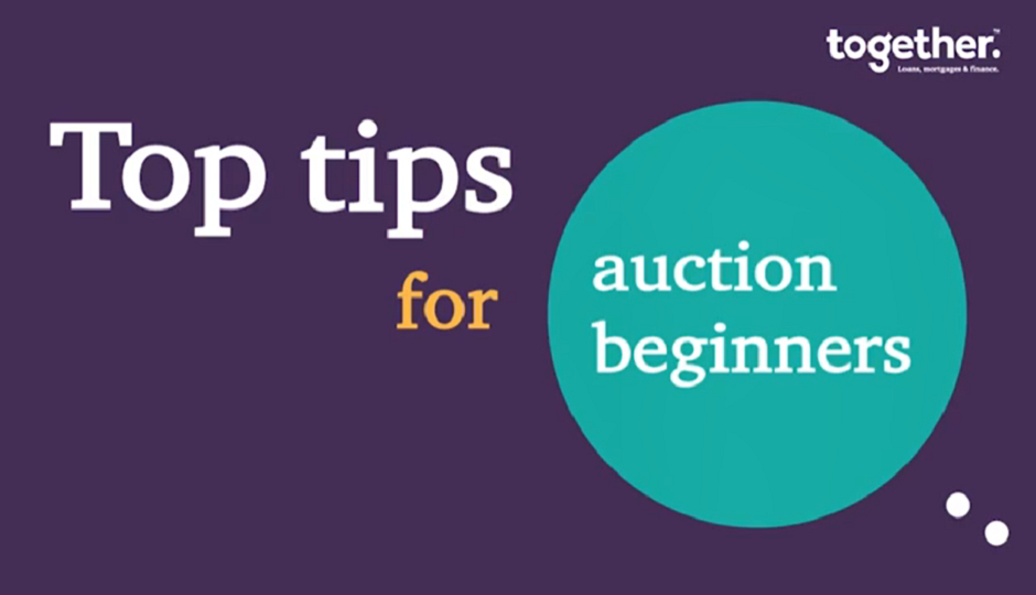 Top tips for auction beginners